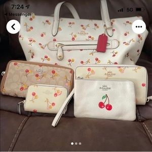 Authentic Coach Cherry Collection! 🍒